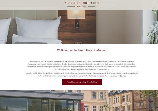 Ihr Hotel in Gnoien